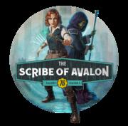 FO76 Scribe of Avalon circle logo.png