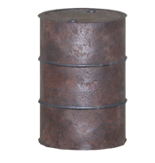 FO76 nif metal barrel