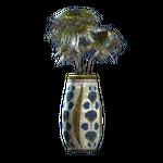 Floral rounded vase.png