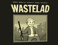 Wastelad Title Screen