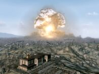 Z nieba wybuch megatona
