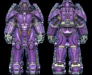 FO4CC X-02 power armor purple