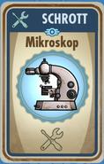 FOS Karte - Mikroskop