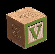 Wooden block V