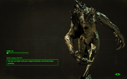 FO4 Deathclaw loading screen 2