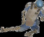 FO4 Vault-Tec armor skeleton