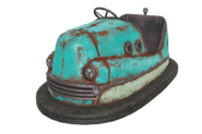 FO76 Bumper car blue