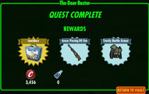 FoS The Door Buster rewards