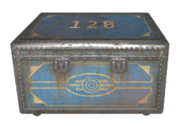 Steamer trunk Vault 120 cut