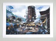 Diamond-city fallout4 print1
