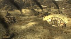 FNV Hidden Valley bunker Destroyed.jpg