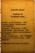 FO76 Catalogue de curiosités