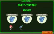 FoS A Labor of Love rewards