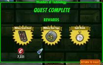 FoS Wonders of Technology rewards
