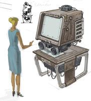 Microfilm reader CA