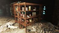 FO4 Federal ration stockpile interior 1