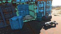 FO4 Spectacle Island (Cargo Vault-Tec)