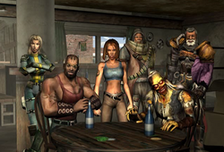 FOBOS Player characters