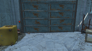 FO4 Cambridge Police station motor pool2