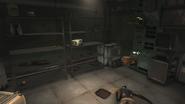 FO76SD Enclave research facility gate storage