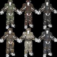 FO76 armor combat material paints