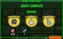 FoS Getcha' Peanuts Here! rewards