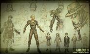 Art of Fallout 3 fashion CA1