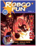 Fo4 Art RobCo Fun magazine (Red Menace)