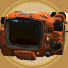 FO4 Creation Club - PipBoy Orange.png