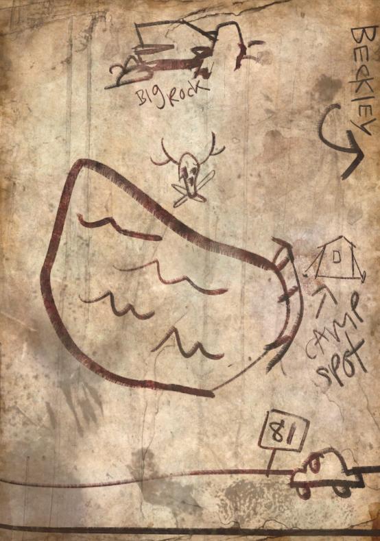 Карта маршрута доставки