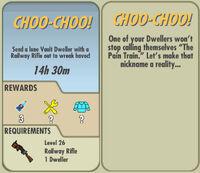 FoS Choo-Choo! card