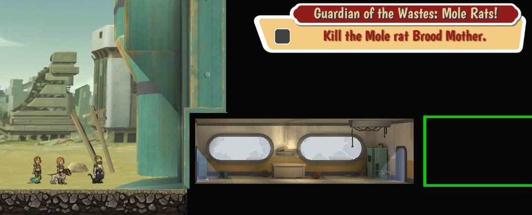 Guardian of the Wastes: Mole Rats!