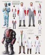 Institute uniform concept art