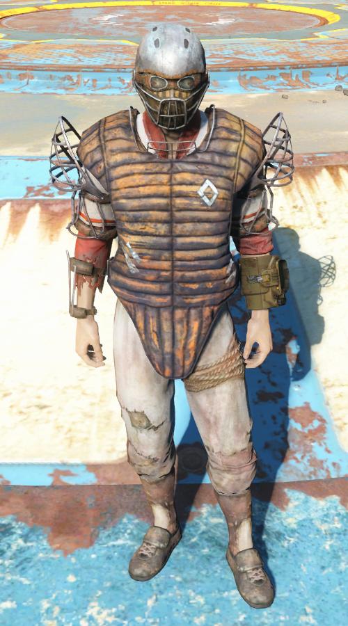 Броня охраны Даймонд-сити