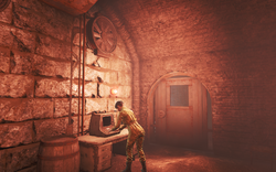 Fo4 ronnie shaw castle tunnels.png