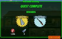 FoS Wasteland Getaway rewards