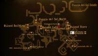 Puesta del Sol South map