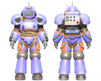 CC-00 power armor ArcJet Systems paint