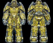 FO4CC X-02 power armor swamp camo
