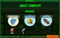 FoS Pet Peeve rewards
