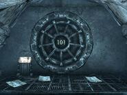 FO3 Intro Vault 101 entrance