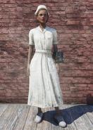 FO76 Asylum Worker Uniform White Dirty