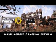 Bethesda Game Days 2020- Fallout 76 Wastelanders Gameplay Preview