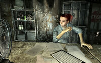FO3 Moira Brown ponders the book