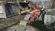 FO4 Forest Grove marsh (Red Tanker Trailer)