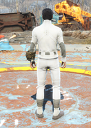 Synth Uniform, Back View (Male)