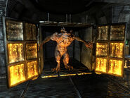 Caged deathclaw