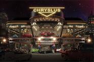 FM Chryslus Dealership Night