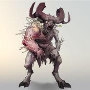 FO76 Chris Ortega concept (The SheepSquatch Monster) (1)