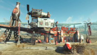 NukaWorld Red Rocket station